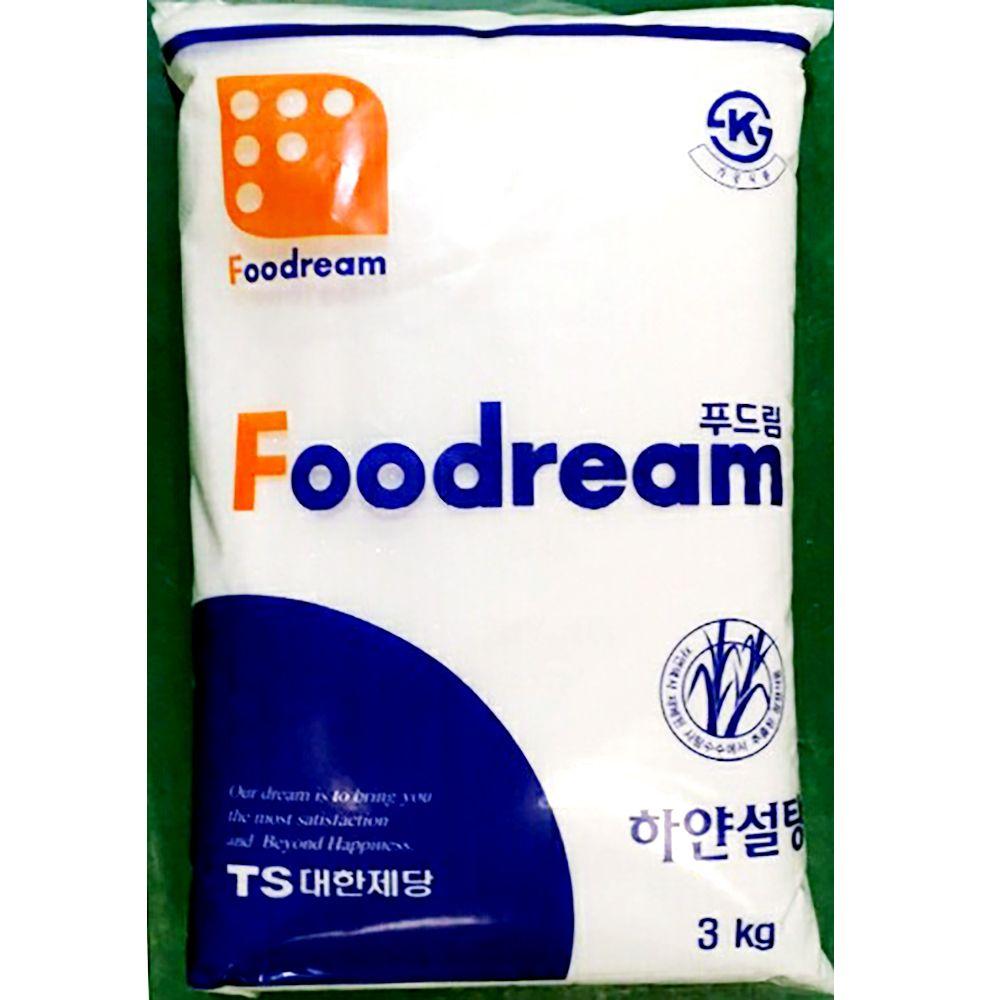 백설탕 하얀 정백당 삼양사 3kg x8개 식자재 업소