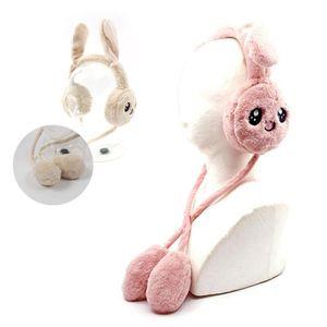 오뜨 토끼 귀마개 인디핑크