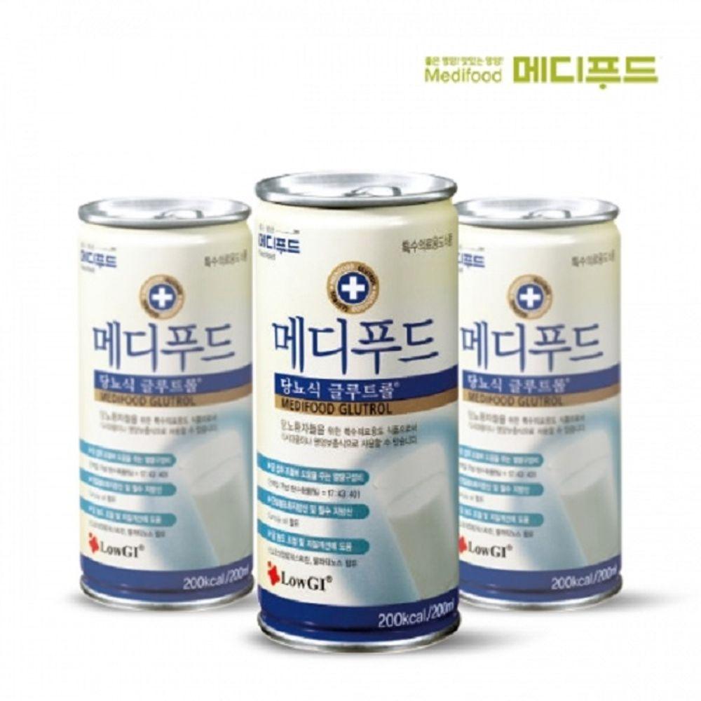 메디푸드 당뇨식 글루트롤 200mlx30캔 간편 영양식