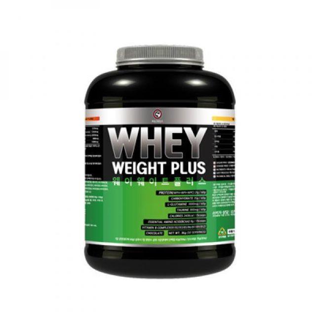 웨이 웨이트 플러스 초코맛 3kg 에너지 헬스 보충제
