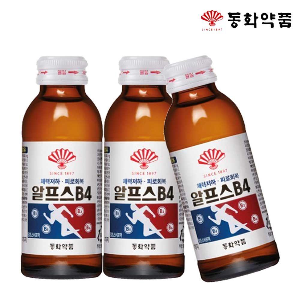 알프스B4 100ml x 100병 건강음료 자양강장 비타민