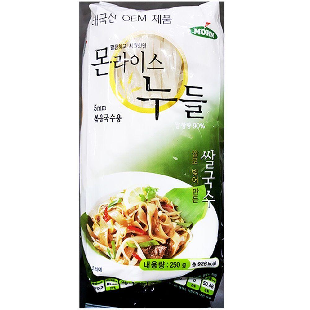 업소용 식당 식자재 코만푸드 쌀국수 5mm 몬 250g