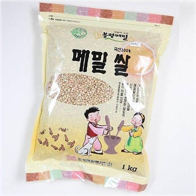 (식자재 박스판매)봉평 메밀쌀 1kg x 10개