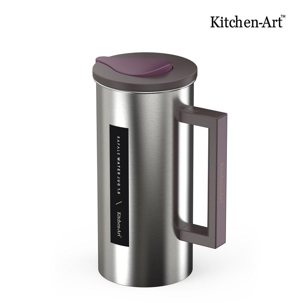 라팔 스텐물병 1.6L_보온 보냉 냉장고 물통 업소용