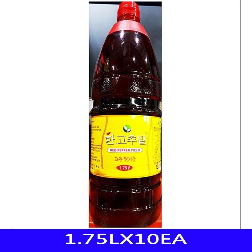 향미유 고추맛기름 한식 음식재료 한식품 1.75LX10EA