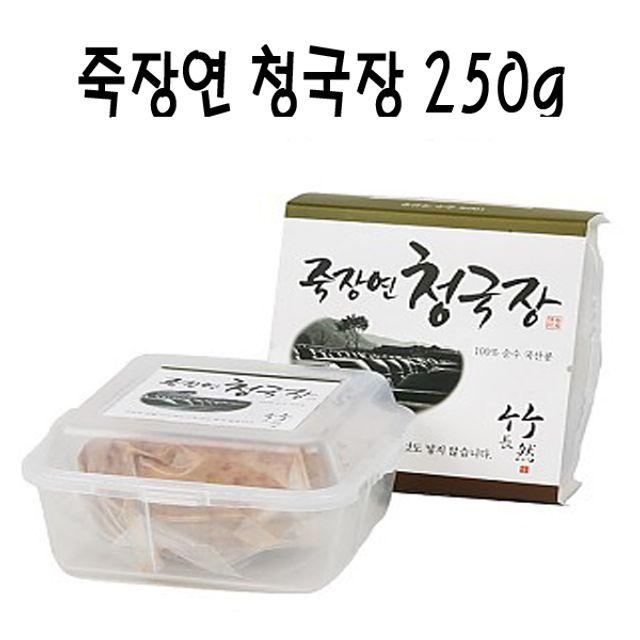 죽장연 프리미엄 청국장 250g(플라스틱)