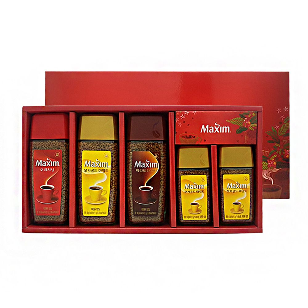 맥심 5종 종합 커피세트 추석 설날 종합 선물세트