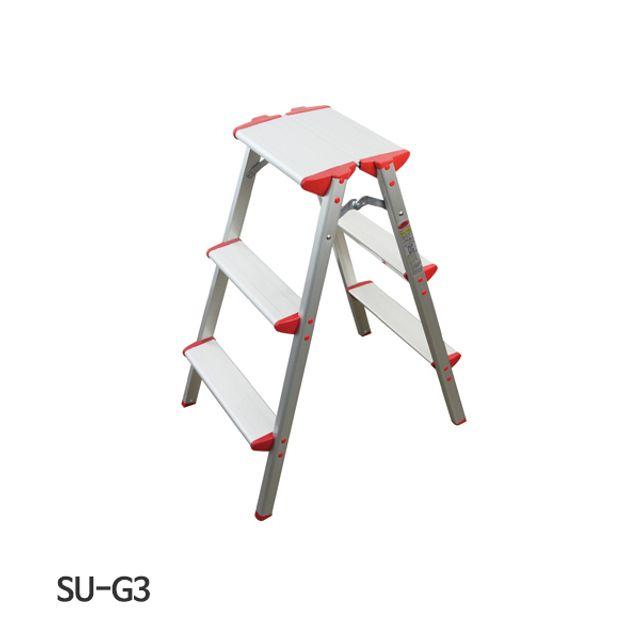 서울금속 사다리 가정용 SU-G3 2x3단