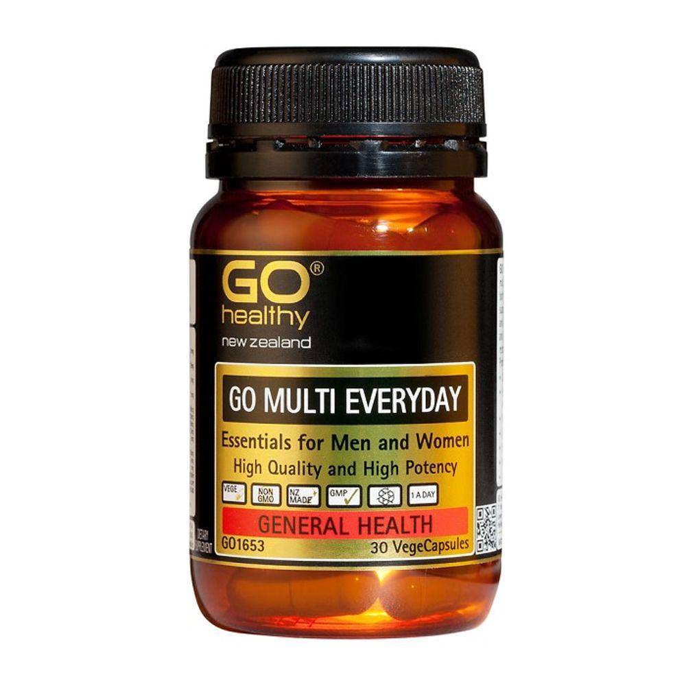뉴질랜드 고헬씨 멀티 에브리데이 멀티비타민 30캡슐