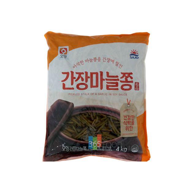 사조오양 간장 마늘쫑 4kg