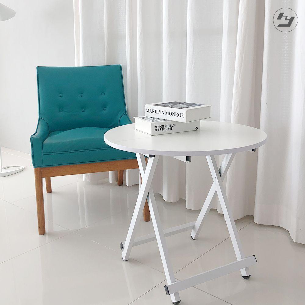 접이식 원형테이블 간이 카페 커피 티테이블
