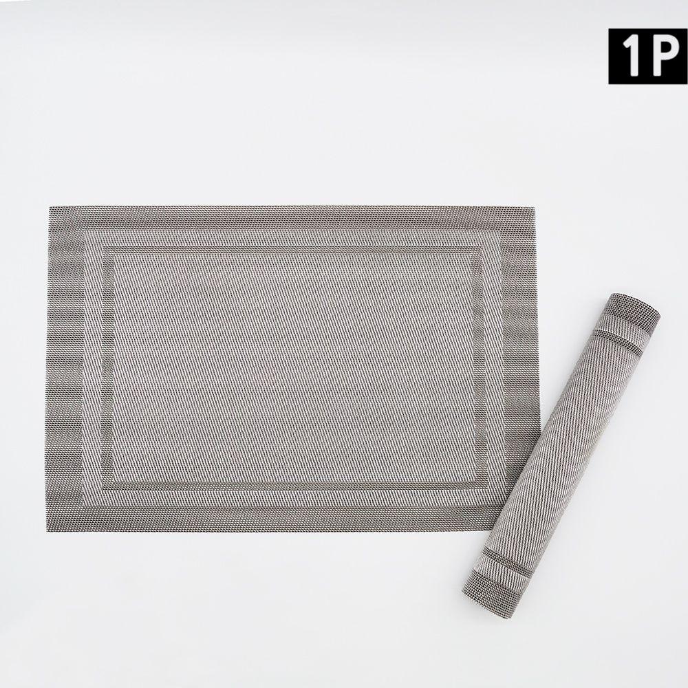 북유럽 사각 방수 주방 테이블매트 식탁보
