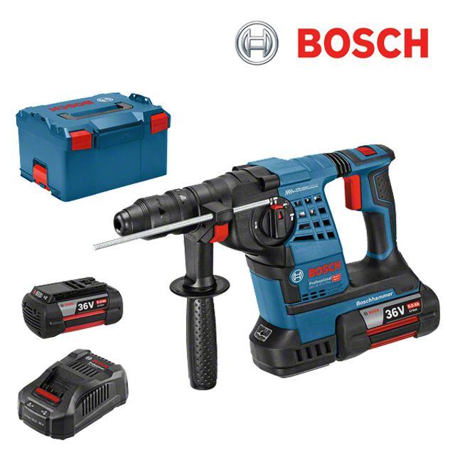 보쉬 GBH 36V Li Plus 충전 해머드릴 세트