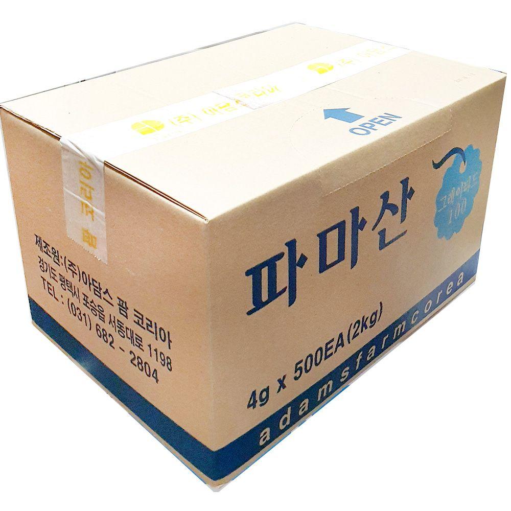파마산 치즈 아담스 4g x500개 업소용 식당 업소 재료
