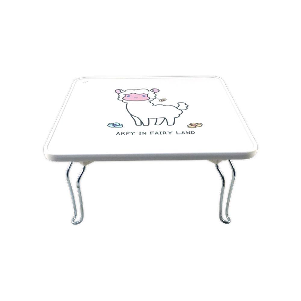 우공 하이그로시 알피 사각 미니 접이식사각테이블