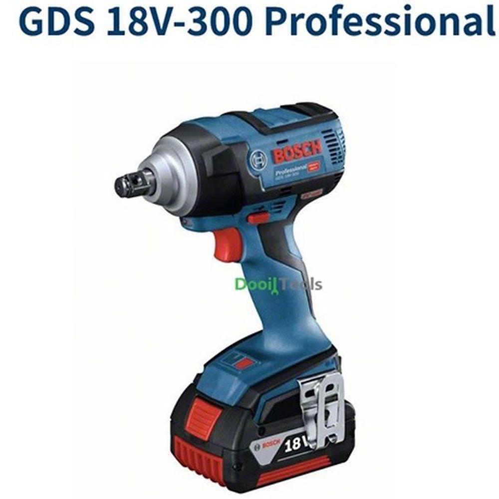 BOSCH 충전 임팩렌치 GDS18V-300 (5.0Ah) 전동렌치