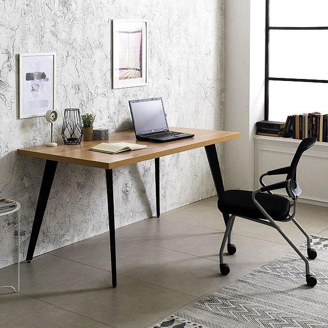 책상세트(815) 인더밴 1500 가정용 테이블 의자 체어