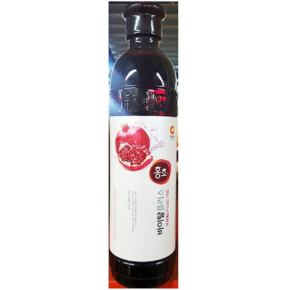 업소용 식당 식자재 음료 재료 대상 석류식초 0.9L