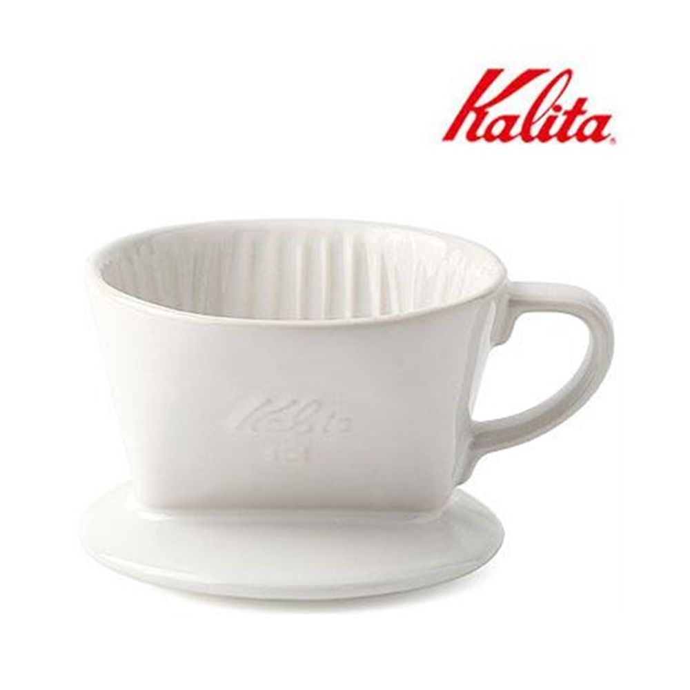 칼리타 101LD 드립퍼 화이트 드립서버 필터 커피용품