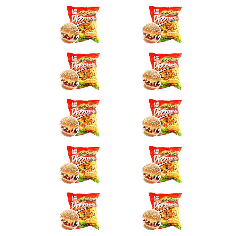 경규 햄버거 독서실 간식 피자버거 빵 피자리오 10EA