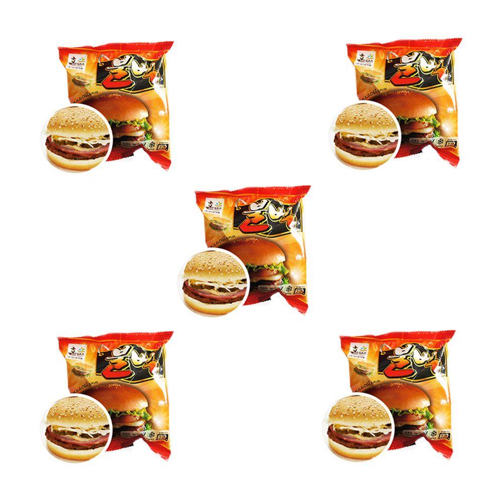 경규 냉동 매점 햄버거 독서실 빵 불벅 맛있는빵 5개