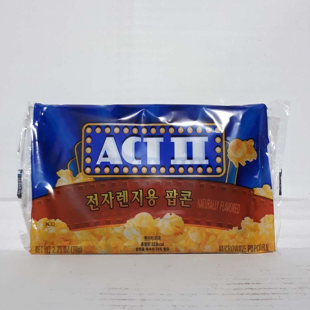 ACT II 엑트2 전자렌지용 팝콘 - 78g
