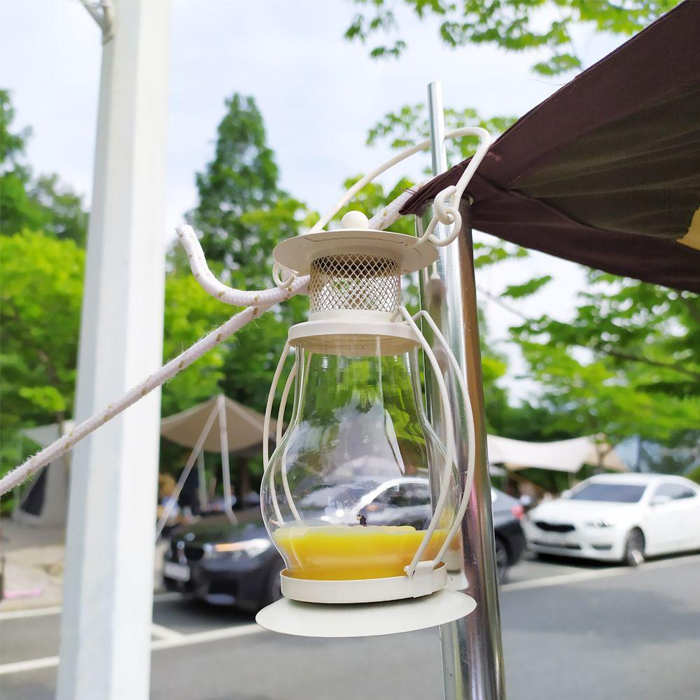 감성캠핑 티라이트 램프(아이보리)