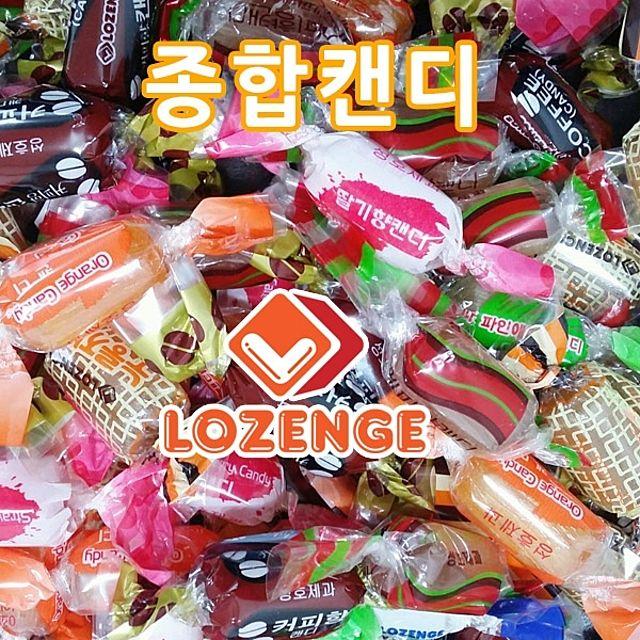 종합캔디 1.7kg 종합사탕 대용량 계피 벌크