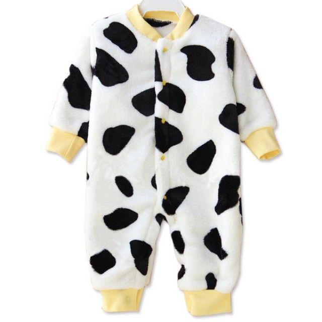 보들보들 얼룩 젖소 우주복(0-12개월) 202863