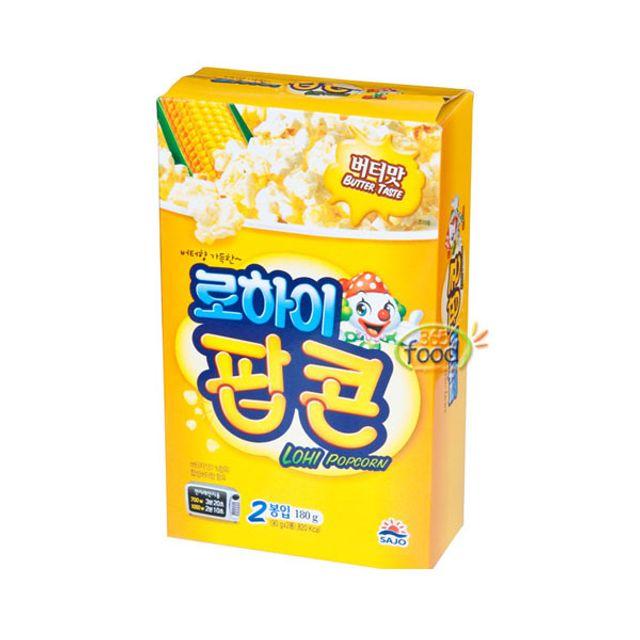 사조해표 로하이 팝콘 (버터맛) 180g(2봉)