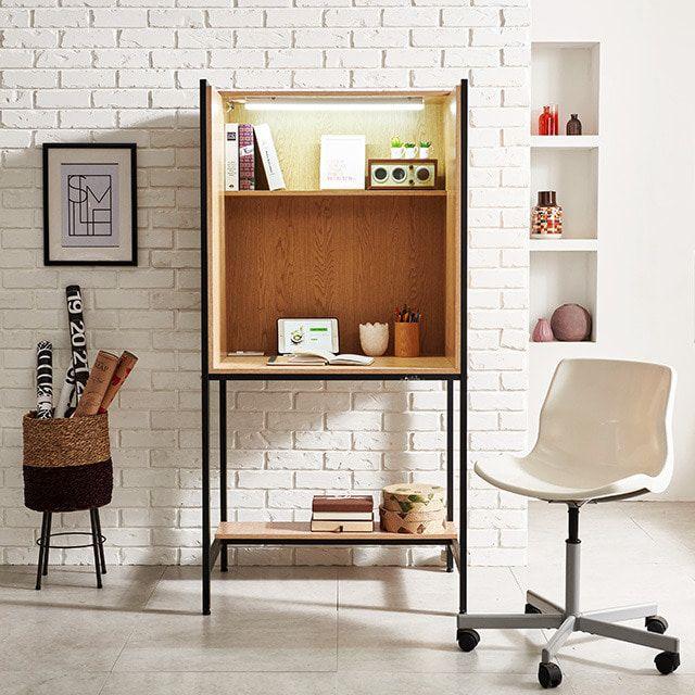 루디LED 독서실책상 가정 가림판테이블 공부상 스터디