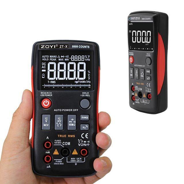 디지털 전기 전압 측정기 휴대용 멀티 전류 테스터기