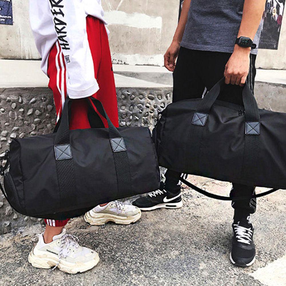 트래블 여행용 보스턴 가방 검은색 헬스가방