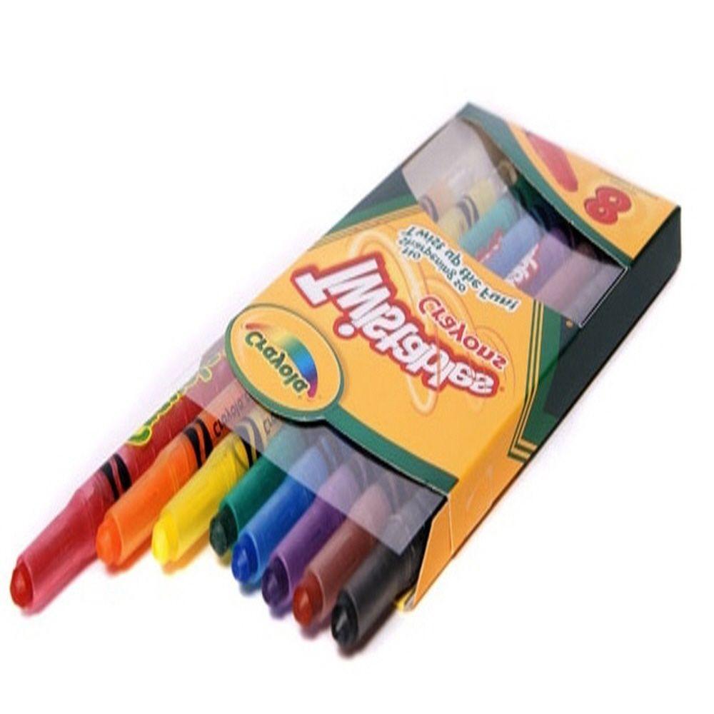 유아 조카 선물 미술 색칠 놀이 트위스트 색연필 8색