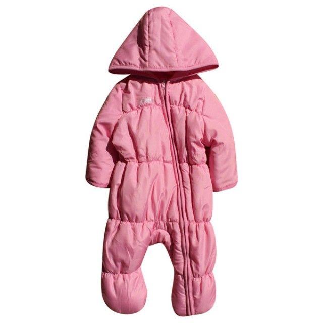 핑크 패딩 방한 우주복(3-12개월) 202372