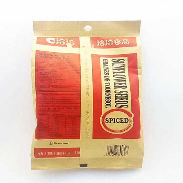 챠챠푸드 양념맛 해바라기씨 견과류 간식 중국식품