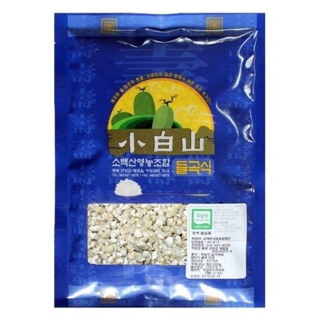 (무농-약)찰옥수수쌀-500g - 2019년산