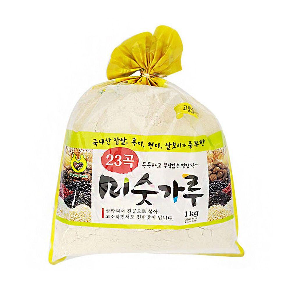 23곡 미숫가루 식사 간식 건강 대용식 1kg