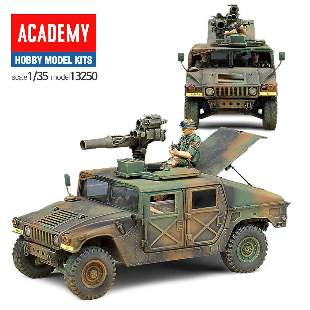 프라모델250 미국 M966 토우미사일 험비차량
