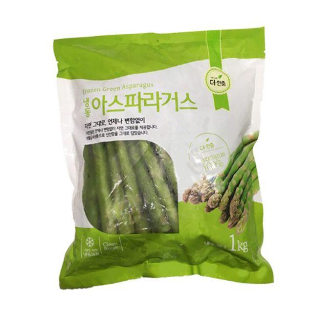 더한줌 아스파라거스 1kg 야채 간편식품 냉동 혼밥