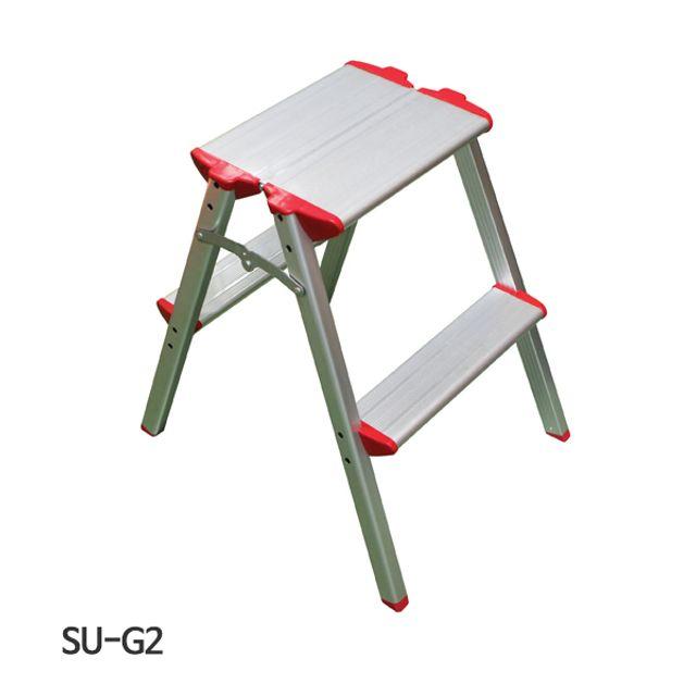 서울금속 사다리 가정용 SU-G2 2x2단