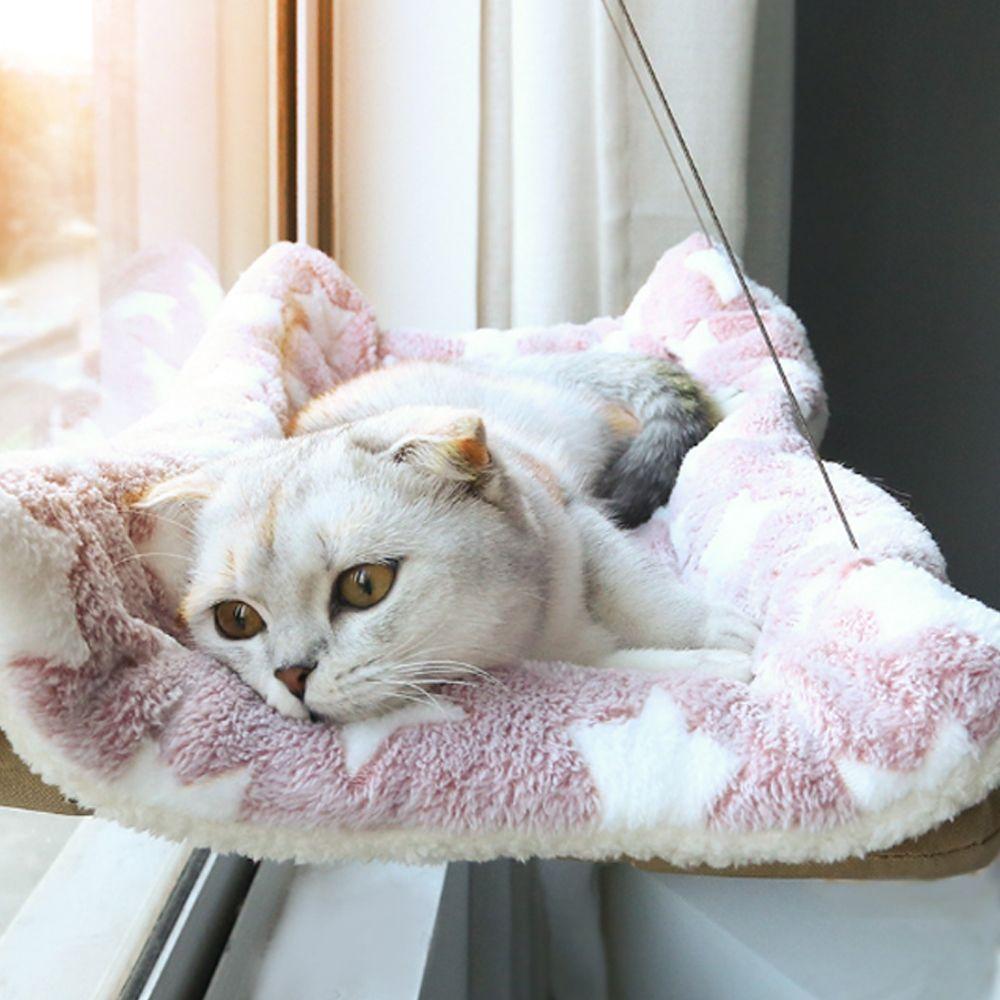 키밍 윈도우 흡착판 고양이 해먹 창문 침대 캣타워