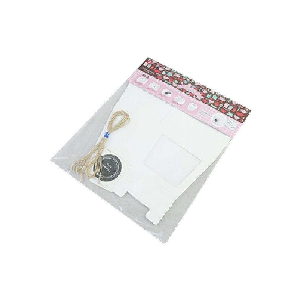 화이트 투명창 박스 세트 2P 상자 박스 선물상자