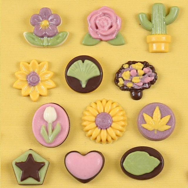 꽃 초콜릿 만들기세트 우리 농산물로 만든 초코펜