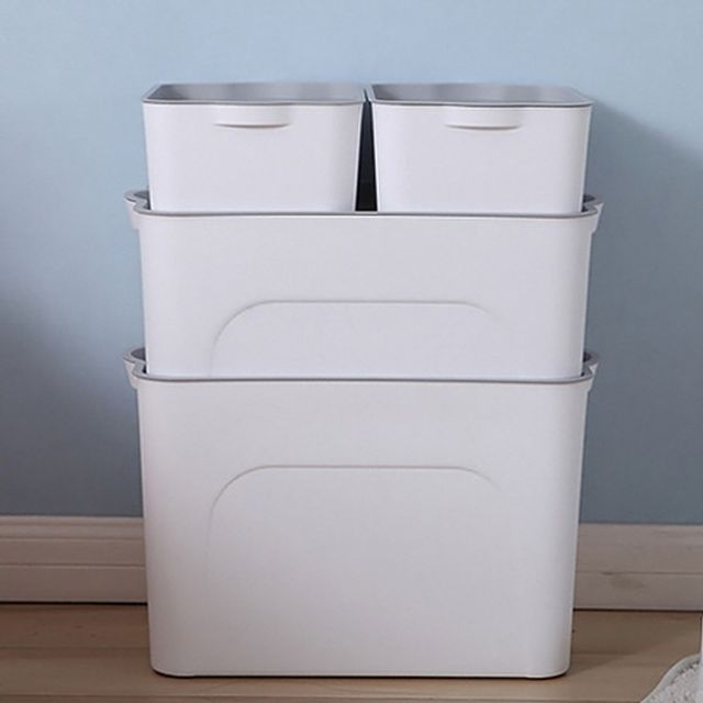 인테리어 소품 리빙 박스 다용도 수납 정리함 대형
