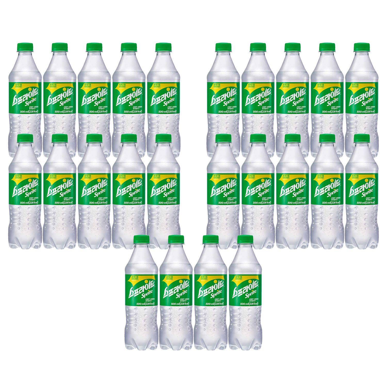 스프라이트 500ml 24개 탄산음료 펫음료 행사음료
