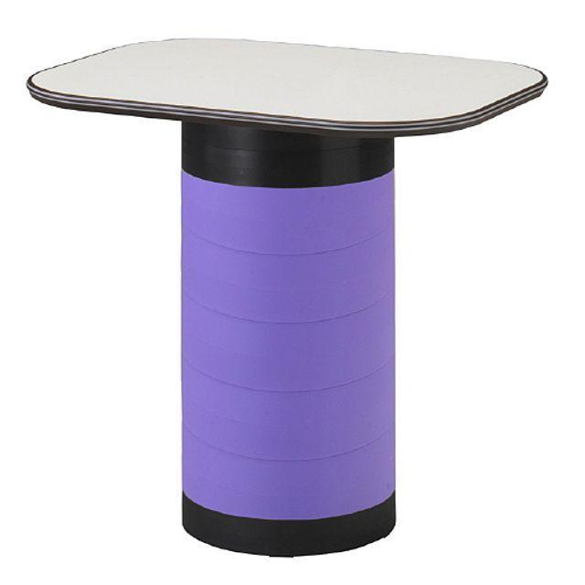 스탠딩 수납 테이블 보라 탁자 다용도 입식 작업 책상