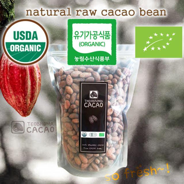 유기농 카카오빈 1kg/코코아빈/카카오콩