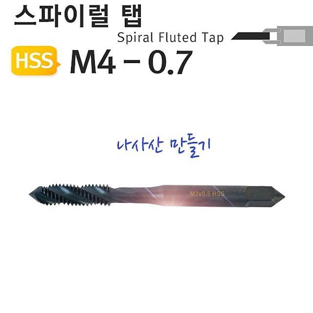 M4-0.7 나사산 야토