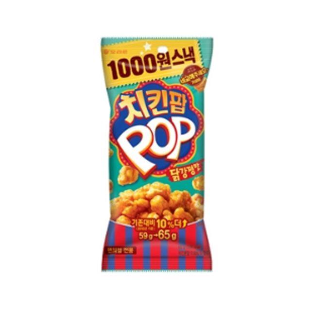 오리)(5봉지)치킨팝닭강정맛65g